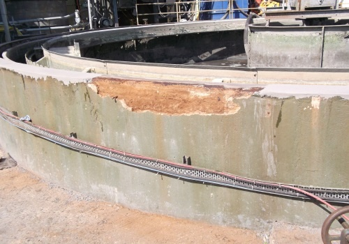 Slitasje på betong kan skje på mange måter