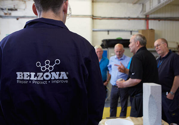 Opplæring i Belzona produkter
